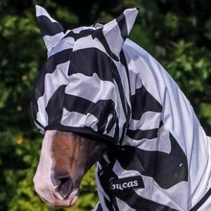Buzz-Off Zebra Mask