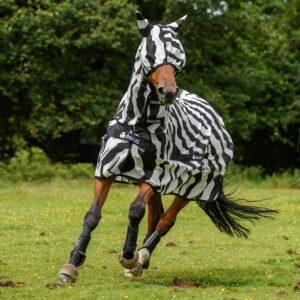 Buzz-Off Zebra & Mask