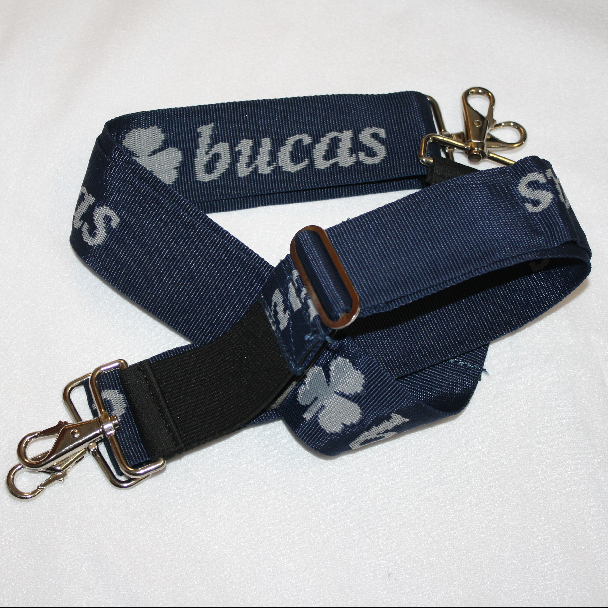 Bucas Belly Pad Extender Strap pairs Navy
